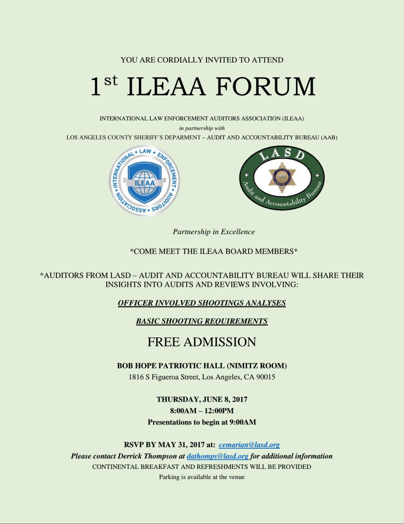 1st-ILEAA-FORUM